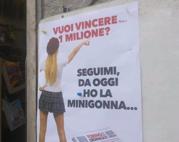Ancora una volta una pubblicità sessista! Ancora una volta messaggi diseducativi!