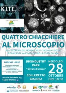 Quattro chiacchiere al microscopio @ Bioindustry Park