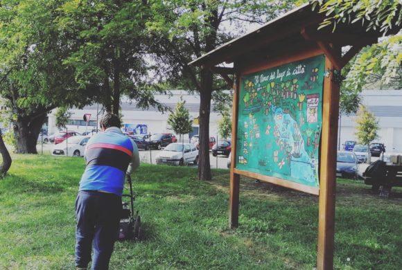 Il Parco del Lago di Città è cresciuto ed è diventato un presidio verde nel cuore d'Ivrea