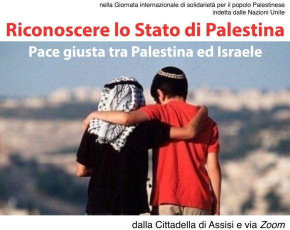29 novembre. Giornata ONU di solidarietà con il popolo palestinese