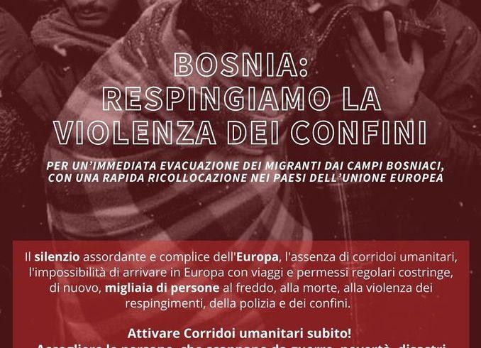 Sit in per la Bosnia. Sabato 16 gennaio a Torino