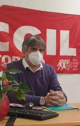 Partecipazione, società civile, ambiente e lavoro: gli obiettivi del nuovo responsabile eporediese della CGIL Gianni Ambrosio