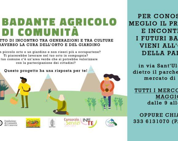 """Nasce il progetto del """"badante agricolo"""" di Comunità"""