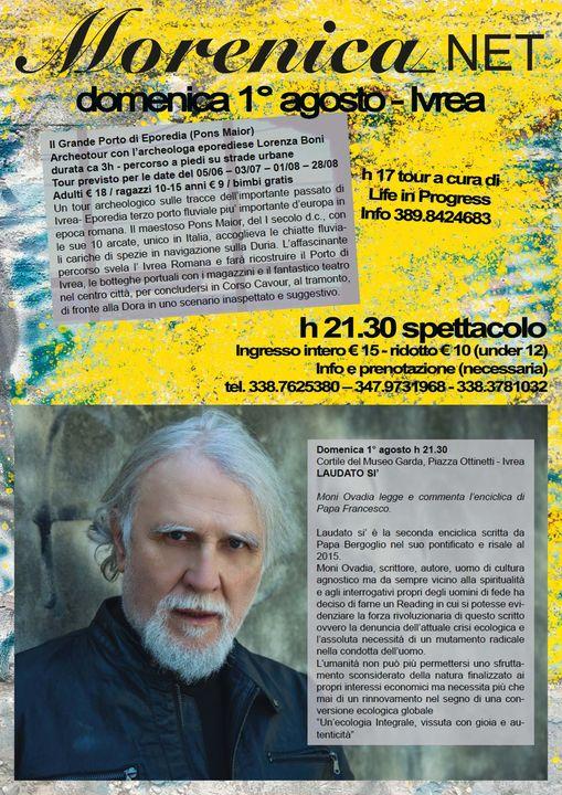 Moni Ovadia @ cortile del Museo Garda