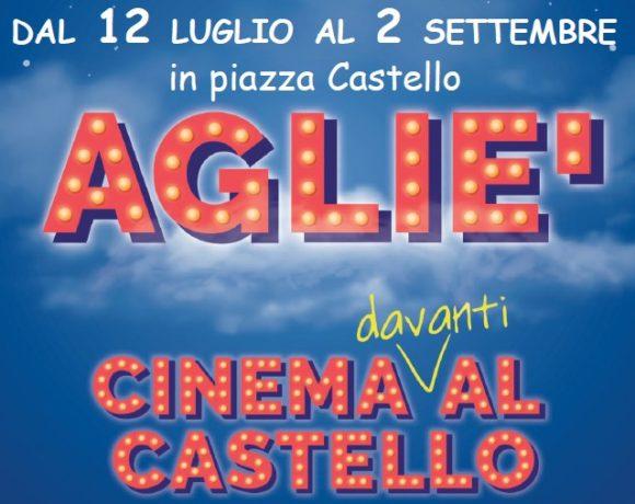 """Ad Agliè """"CINEMA davanti AL CASTELLO"""": 17 serate dal 12 luglio al 2 settembre"""