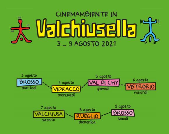 Cinemambiente torna in Valchiusella dal 3 al 9 agosto