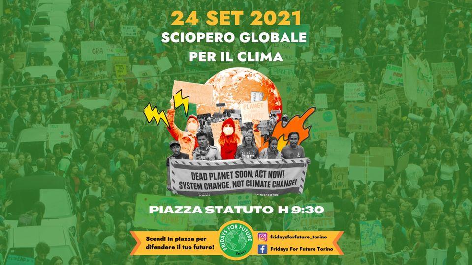 Sciopero Globale per il Clima @ Piazza Statuto