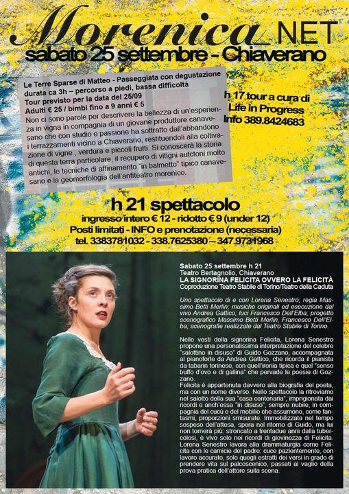 La Signorina Felicita ovvero la felicità @ Teatro Bertagnolio