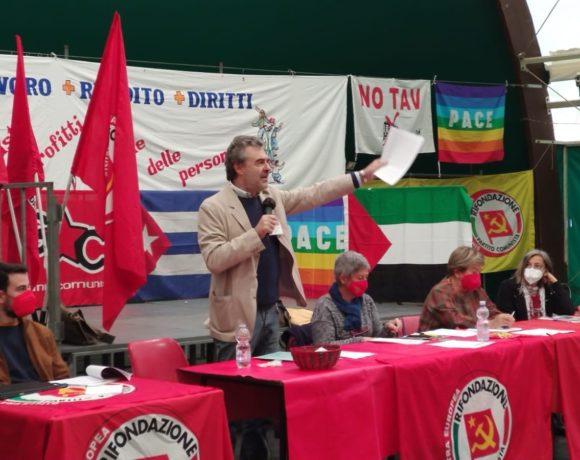 Solidarietà alla Cgil dal Congresso provinciale di Rifondazione Comunista Torino