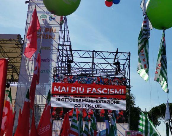 Sabato a Roma la risposta all'assalto fascista è stata forte e chiara