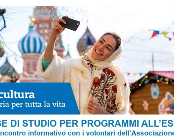 Intercultura. Borse di studio per programmi all'estero