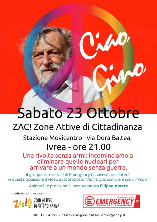 Ciao, Gino @ Zac!